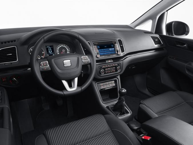 Seat Alhambra 2010 interieur