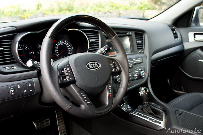 kia optima rijtest