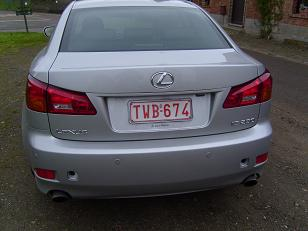 Lexus IS 250 Rear