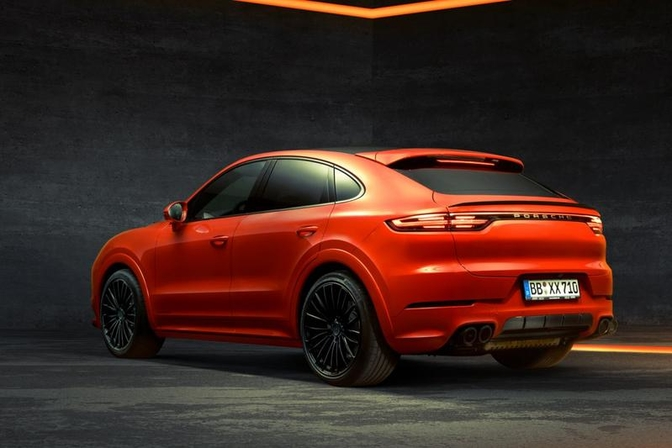 Techart Porsche Cayenne Coupe