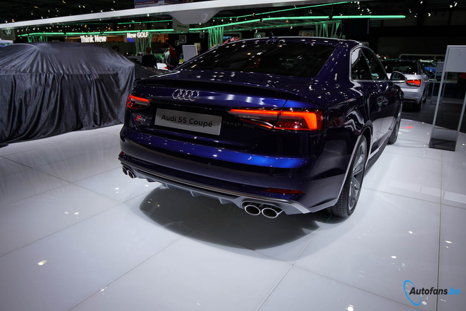Audi S5 coupé autosalon brussel 2017