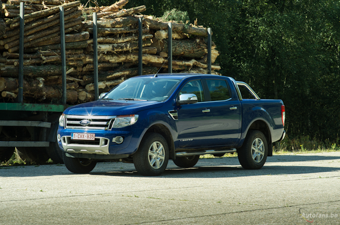 Ford Ranger 2.2d 6 Speed Limited