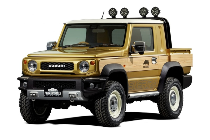 suzuki jimny pick-up concept 2019