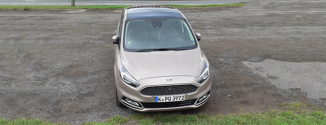test: Ford S-Max facelift (2019)