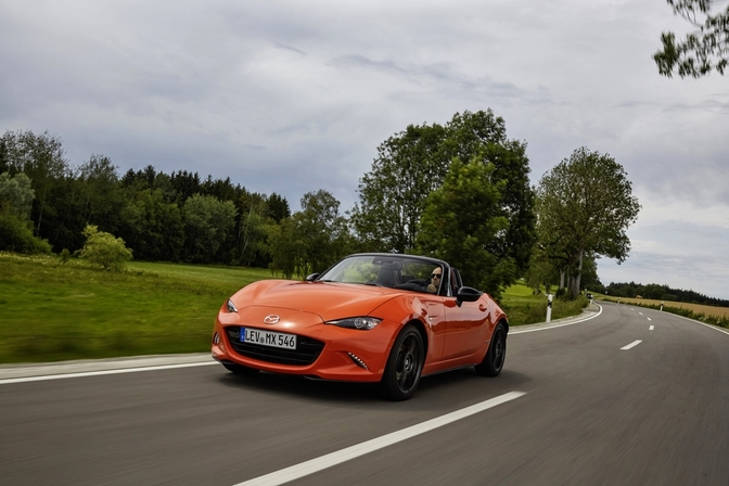 Mazda MX-5 30th edition rijtest