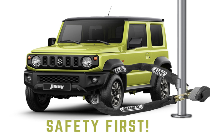 suzuki jimny safety