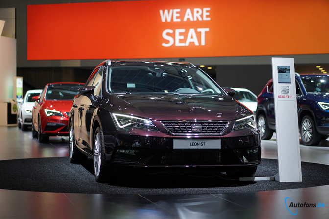 SEAT Leon facelift 2017 salon Brussel