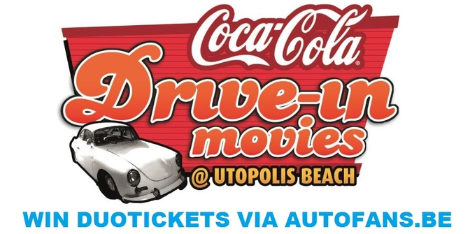 WIN DUOTICKETS voor de Coca-Cola Drive-In Movies via Autofans.be