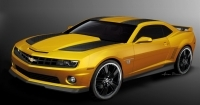Chevrolet Camaro Bumblebee acteert in Transformers 3