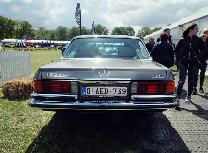 mercedes 450sel 6.9 ACCE