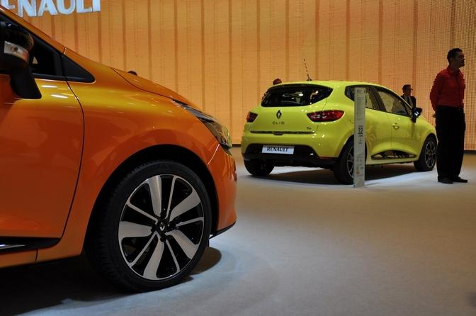 Renault Clio IV Paris 2012