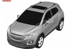 Chevrolet small SUV render leaked 001