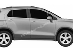 Chevrolet small SUV render leaked 003