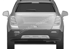 Chevrolet small SUV render leaked 004
