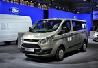Autosalon Brussel 2013 Ford Transit Custom