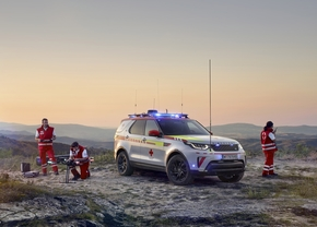 land rover discovery rode kruis