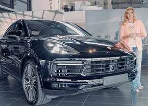 Porsche Cayenne Coupé video