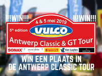 Antwerp Classic car event Classic Tour win