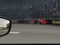 Nissan 350Z crash