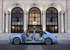 lincoln continental 80th anniversery coach door 2018