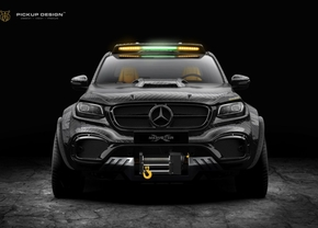 carlex design monster x mercedes x-klasse