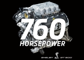 ford mustang gt500 engine