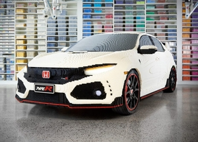 honda civic type r lego 2019