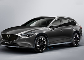 mazda 6 wagon x front render