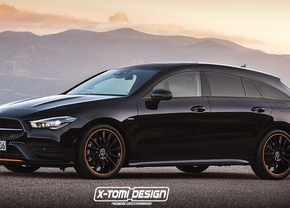 mercedes cla shooting brake render xtomi design