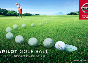 Nissan propilot video golfbal