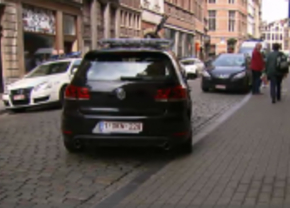 Golf GTI Brusselse politie