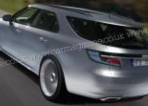 2010 Saab 9-5 Estate render