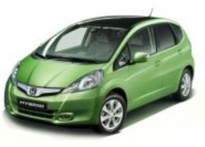 Honda Jazz Hybride in Parijs
