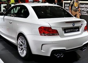 Live in Brussel: BMW 1 M Coupé