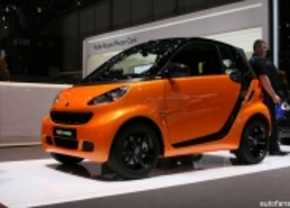 Smart ForTwo Night Orange Edition live in Genève 2011