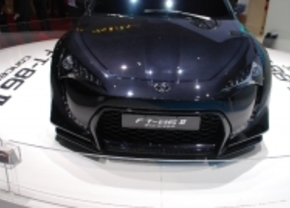 Live in Genève 2011: Toyota FT-86 II Concept