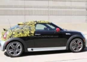 Mini Roadster JCW gespot