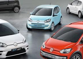 Volkswagen bedenkt zes Up!-varianten