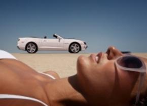 Opgeleukte beelden van de Chevrolets Camaro