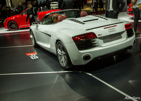 Live in Parijs 2012: Audi R8 (Facelift)