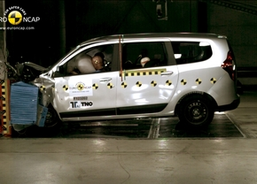 EuroNCAP november 2012 Dacia Lodgy