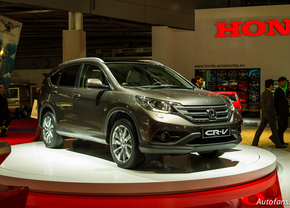 Live in Parijs 2012: Honda CR-V