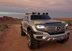 Mercedes Ener-G-Force Concept in L.A.