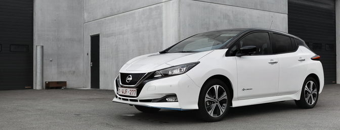 Nissan Leaf e Plus 62 kWh rijtest review